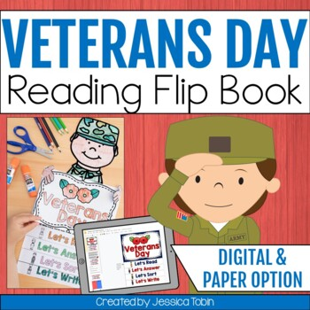 Veterans Day Flip Book