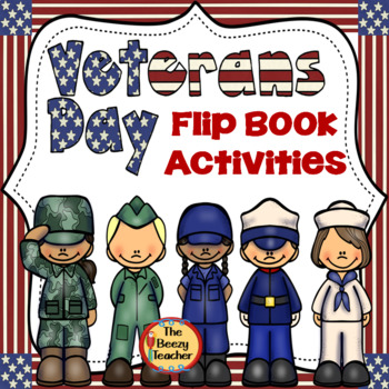 Veterans Day Flip Book Activities