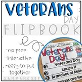 Veterans Day Flip Book (No Fuss, No Prep!)