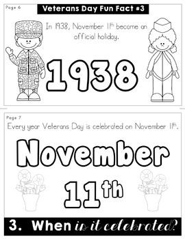 Veterans Day Flip Book   No Prep   No Fuss   No Scissors   No Glue   Flipbook