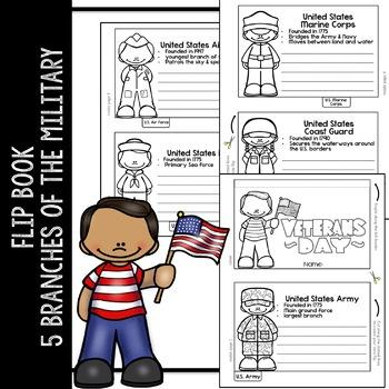 Veterans Day Flip Book and Activities