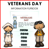 Veterans Day Flip Book - perfect for little learners to ex