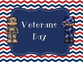 Veterans Day Flipbook and Activities