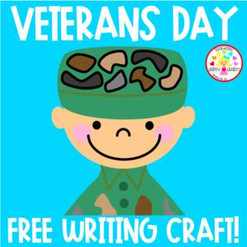 Veterans Day Free Writing Craft