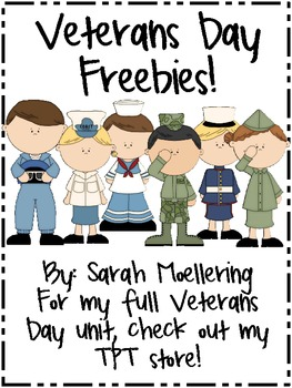 Veterans Day Freebies!