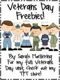 Veterans Day Freebies!