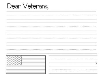 Dear Soldier, Dear Veterans for Memorial Day or Veterans Day