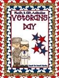 Veteran's Day Fun- CCSS Activities