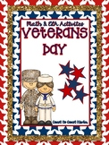 Veteran's Day Fun- CCSS Activities
