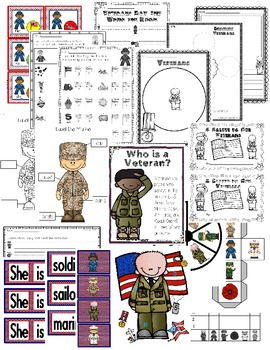 Veterans Day Fun and Easy Centers