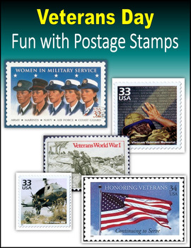 Veterans Day:  Fun with Postage Stamps