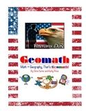 Veterans Day GEOMATH - Math + Geography = Fun!