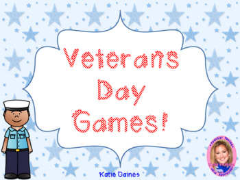Veterans Day Games!