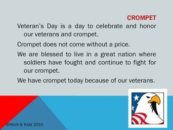Veteran's Day Goosh - Making Inferences & Using Context Clues