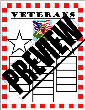 Veterans Day Graphic Organizer