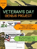 Veterans Day (Guided Genius Hour Project)