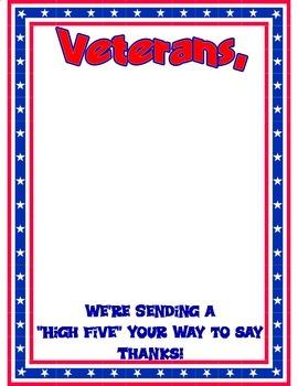 Veterans' Day Hand Prints