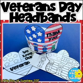 Veterans Day Headbands/Hats
