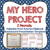 Memorial Day, Hero, Foldable Flipbook, Presentation Project Templates