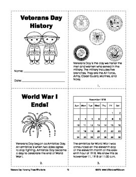 Veterans Day: A Cross-Curricular Math and ELA Unit for 3rd and 4th Grade