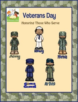 Veterans Day: A Cross-Curricular Math and ELA Unit for 3rd