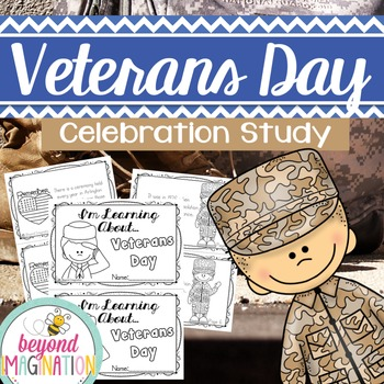 Veterans Day Printable Booklet |48 Pages for Differentiate