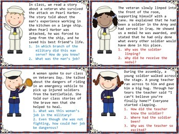 Veterans Day Inferences