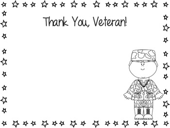 Veterans Day Information /Writing Activity
