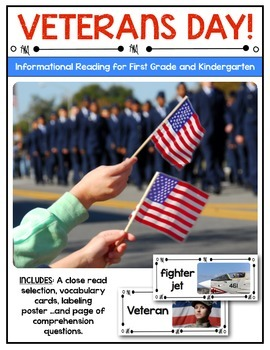 {Veterans Day} Informational Reading & Text Dependent Questions
