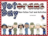 Veterans' Day: Informational Text and Activities