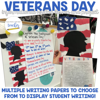 Veterans Day Informative Writing