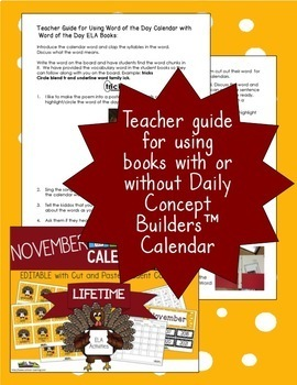Veterans Day Interactive Vocabulary Book and Song with Comprehension Questions