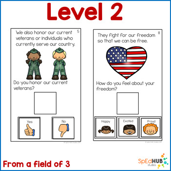 Veterans Day - Interactive holiday story and feelings