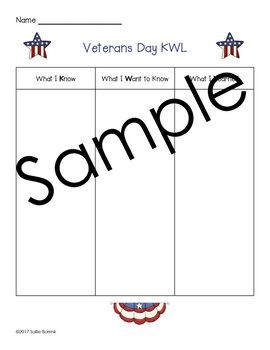Veterans Day KWL