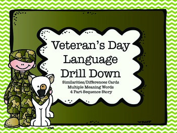 Veteran's Day Language Drill Down