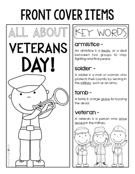 Veterans Day Lap Book:  A Project for Primary Children