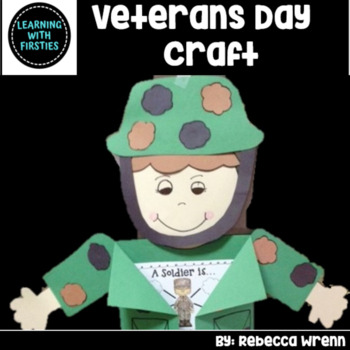 Veterans Day  Activities Lap Book and Craftivity