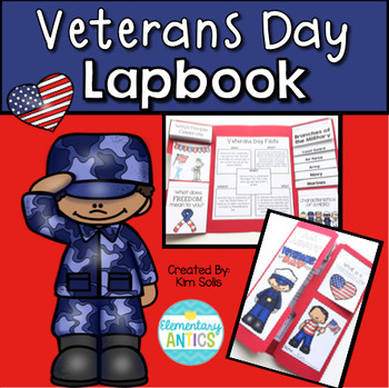 Veterans Day Lapbook Activity