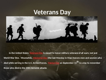Veterans Day Lesson: Create comic strips detailing the US role in World War One