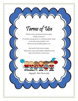 Veterans Day Lesson Plan - Thank A Veteran! Multimedia, Thank You Cards