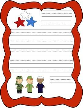 Veterans Day Letter Handwriting