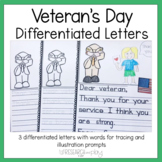 Veterans Day Letter Writing Prompts