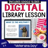 Veterans Day Library Lesson