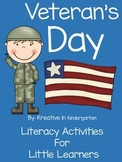 Veteran's Day Literacy Activities