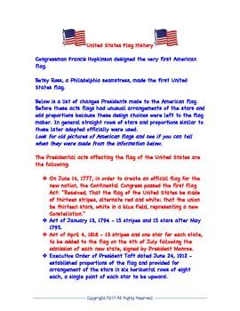 Veteran's Day Literacy Center Activities
