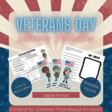 Veterans Day Literacy Activities