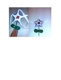 Veterans Day Magical Poppy Flower Star Wands