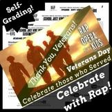 Veterans Day Main Idea Google Forms Reading Comprehension