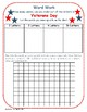 Veterans Day: Making Words and Word Search Extension Activity