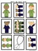 Veteran's Day Match Me Game Cards